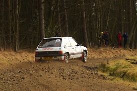 Rally car Peugeot 205 GTi 1580cc. Final Reduction from original price of £6500.