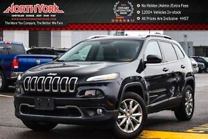2016 Jeep Cherokee Limited 4x4|Leather|Nav|R.Start|Backup Cam|Sa