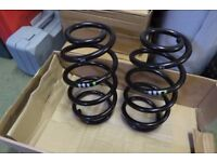 Genuine VW Transporter T5 front suspension coil springs PAIR