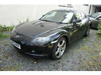 Mazda RX8 231PS Six Speed Spares or Repair with long MOT