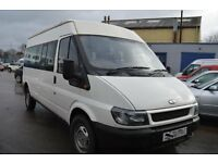 2004 Ford TRANSIT 350 LWB MINI BUS 9 seat in GOOD Condition with MOT Until 2017 OCTOBER