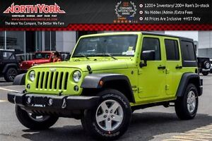 2016 Jeep WRANGLER UNLIMITED NEW Car Sport 4x4|Connectivity,Dual