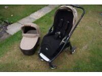 Mamas and Papas Armadillo Flip pram pushchair, rain cover, spare net basket, excellent condition.
