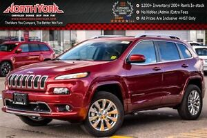 2017 Jeep Cherokee New Car Overland 4x4|Tech Pkg.|Pano_Sunroof|N