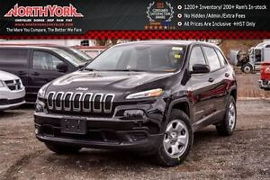 2016 Jeep Cherokee Sport NEW 4x4 3.2 V6 Engine Cold Weather Grp