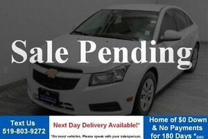 2014 Chevrolet Cruze LT TURBO 6-SPEED w/ REVERSE CAMERA! POWER P