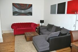 Large, stylish 1 bed garden flat, with own front door and lots of character, N1.