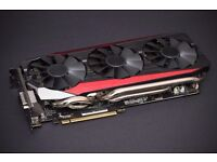 Nvidia Geforce ASUS GTX 980 Ti Strix OC Graphics Card 6GB