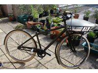 Specialized Globe Live 1 Town Bicycle Vintage Style with Basket
