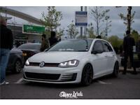 Mk7 golf r headlights good replica