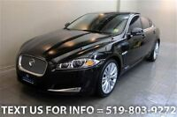2012 Jaguar XF 5.0L V8 PORTFOLIO! NAVIGATION! SUNROOF! HEATED LE