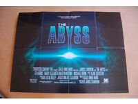 the abyss ' original cinema poster