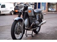 bmw r75/5 1970 classic motorcycle