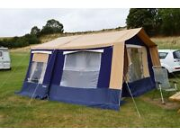 TRIGANO 'ARPEGE' TRAILER TENT/FOLDING CAMPER - USED 5 TIMES - LIGHTWEIGHT - GARAGE STORED