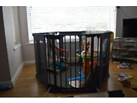 Play pen - Very safe and secure and plenty room for baby to manoeuvre.