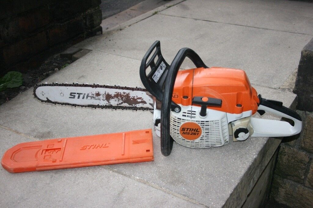 c6a0cc81027 Stihl MS261 professional chainsaw 18 inch bar excellent working order