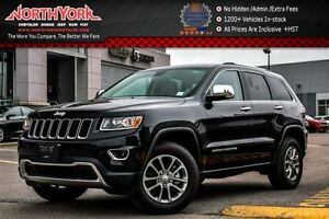 2016 Jeep Grand Cherokee Limited 4x4|TrailerTow IV Pkg|Nav|Leath