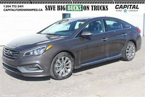 2015 Hyundai Sonata 2.4L Sport *Sunroof-Leather-Rear Cam*