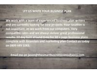 Expert Business Plan Writers Available