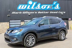 2014 Nissan Rogue SL AWD! $86/WK, 4.74% ZERO DOWN! LEATHER! NAVI