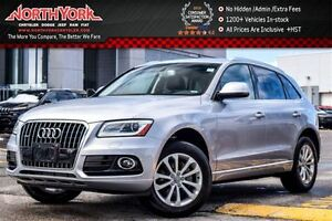 2016 Audi Q5 2.0T Progressiv|Quattro|Nav|Leather|Backup Cam|Pkn