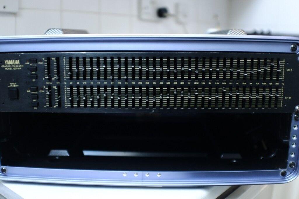 Yamaha EQ Graphic Equaliser Rack Unit Q2031A Vintage EQ Rack Pro Audio | in  Brixton, London | Gumtree