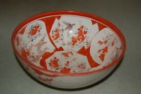 antique 19th century japanese bowl