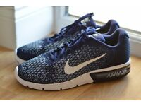 Nike Air Max Sequent 2 blue BRAND NEW UK10.5