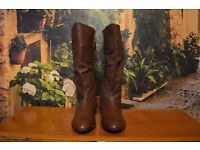 Brand New Evans Boot Real Leather
