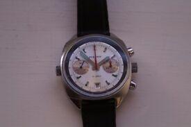 Poljot manual wind mechanical chronograph wristwatch - Russian - cal 3133 -/Valjoux 7734