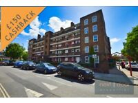 £150 Cashback. Lovely 3 bed flat near Kings College Hospital in Denmark Hill/Camberwell