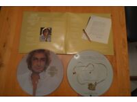Barry Manilow Picture Discs - Greatest Hits Double Album