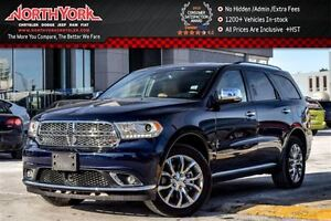 2016 Dodge Durango Citadel 4x4|7-Seater|Tech Pkg|Nav|Sunroof|Lea