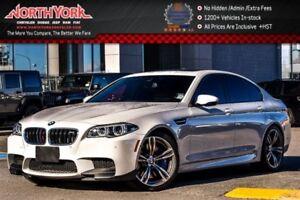 2014 BMW M5 Exec.,Driver Assist+ Pkgs|Sunroof|Leather|H/K Audi