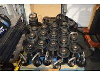 Jordan Fitness Dumbbells, Olympic Plates, Kettle Bells & Olympic Barbells