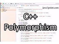 C++ Polymorphism  #javaTpoint