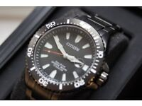 Watch - Mens Citizen Eco Drive Royal Marines Commandos Limited Edition BRAND NEW UNUSED