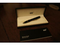 Mont Blanc StarWalker Black Resin Pen