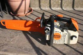 Stihl MS200T top handle petrol chainsaw