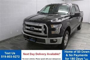 2015 Ford F-150 XLT SUPERCREW! 4WD 5.0L V8! REVERSE CAMERA! TOW