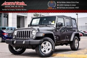 2017 Jeep WRANGLER UNLIMITED New Car Sport|4X4|Keyless_Entry|Fog