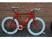 2016 model aluminium Brand new single speed fixed gear fixie bike/ road bike/ bicycles cs