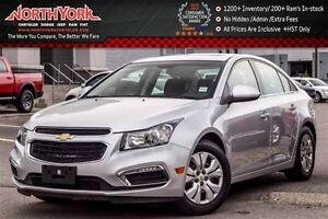 2016 Chevrolet Cruze LT|Sunroof|Rear Cam|Cruise|R-Start|A/C|Pion