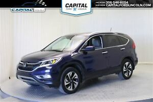 2015 Honda CR-V Touring AWD PST PAID