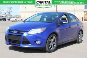2013 Ford Focus SE**PST PAID**  **LEATHER**  **SUNROOF**  **BLUE
