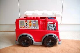 Megablocks fire engine large toy - ride on