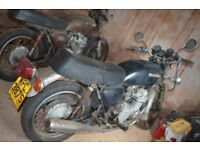 Two Honda CB550 Four Ks for restoration plus extra parts –barn find