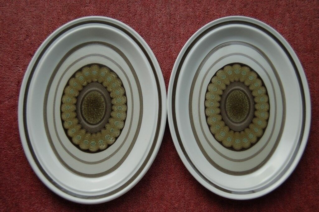 Royal Doulton 'Sienna' Oval Plates in Pristine Condition, £14 each