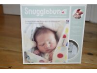 Snugglebundl – Baby lift and lay blanket - 0-6 months – Grey / Stars