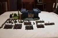 Warhammer Dwarf Army - Fully Painted w/ Custom Castle & Case